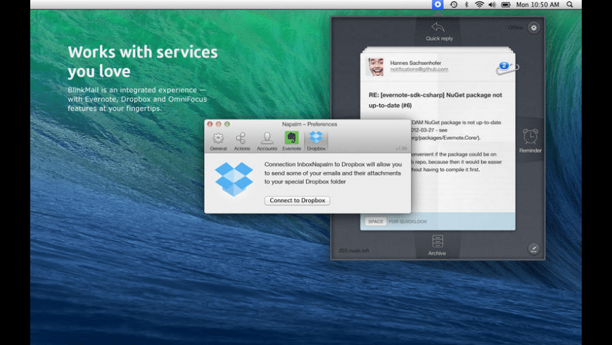 BlinkMail for Mac - review, screenshots