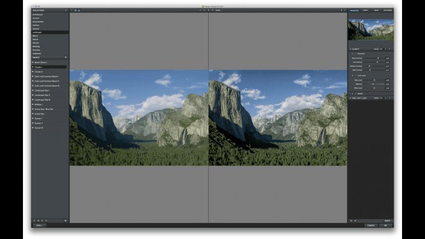 Topaz Clarity for Mac - review, screenshots