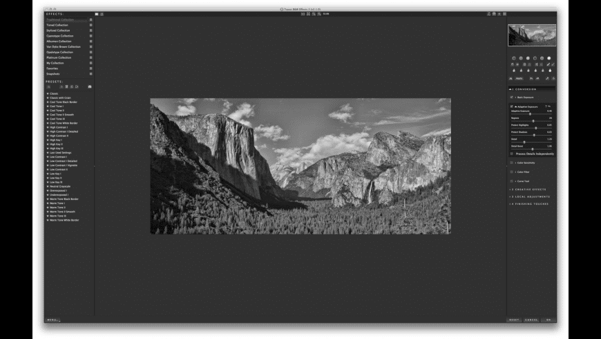 Topaz B&W Effects for Mac - review, screenshots