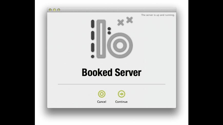 BookedServer for Mac - review, screenshots
