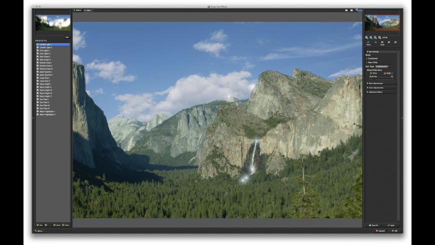 Topaz Star Effects for Mac - review, screenshots