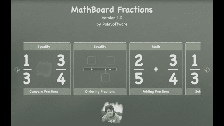 MathBoard Fractions for Mac - review, screenshots