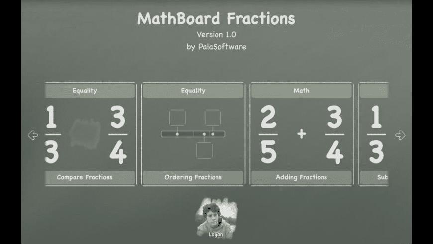 MathBoard Fractions for Mac - review, screenshots