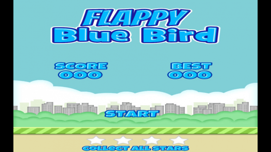 Flappy Blue Bird for Mac - review, screenshots