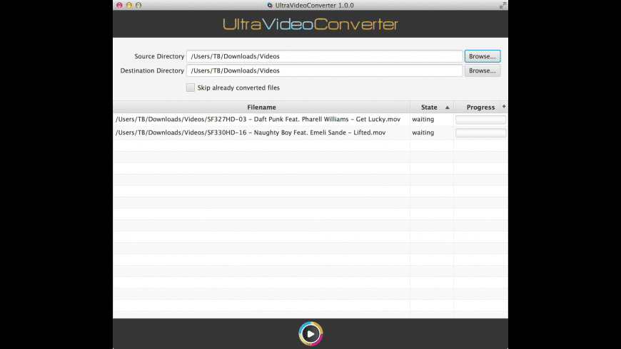 UltraVideoConverter for Mac - review, screenshots