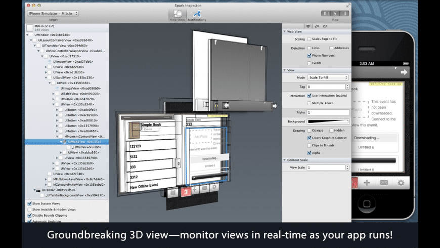 Spark Inspector for Mac - review, screenshots