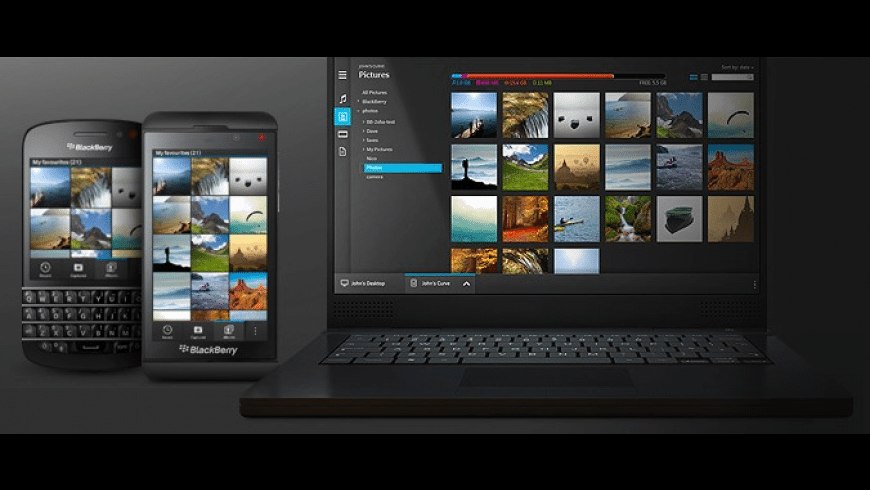BlackBerry Link for Mac - review, screenshots
