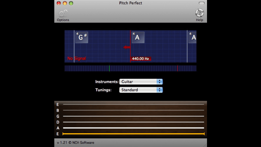 PitchPerfect for Mac - review, screenshots
