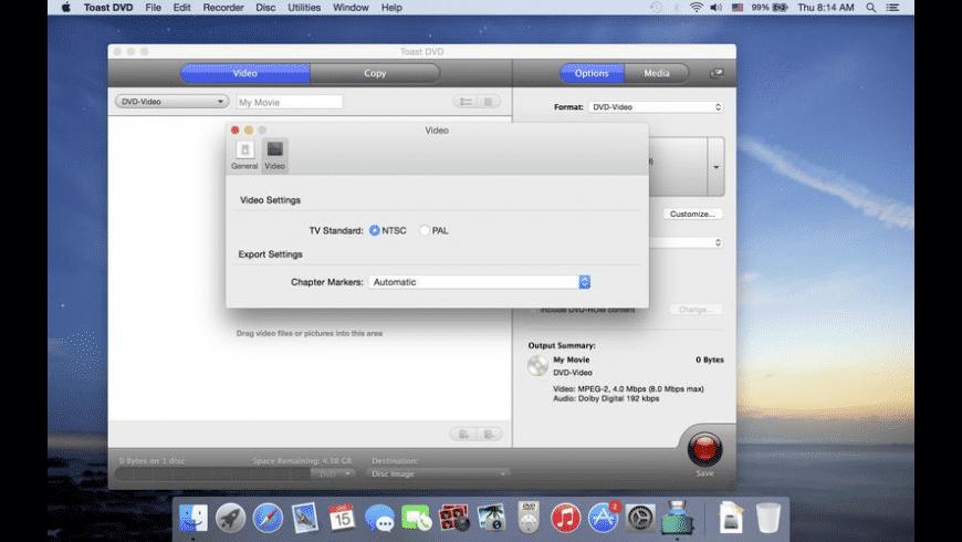 Toast DVD for Mac - review, screenshots