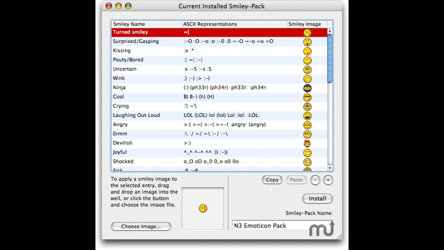Emotimaker for Mac - review, screenshots