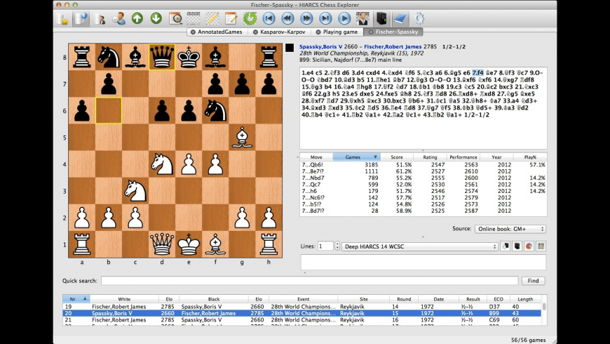 Chess Explorer for Mac - review, screenshots