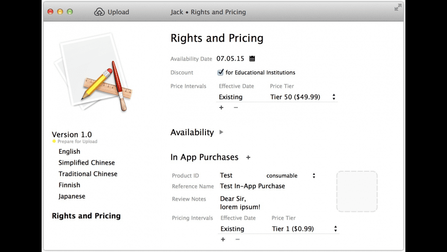 Jack for Mac - review, screenshots