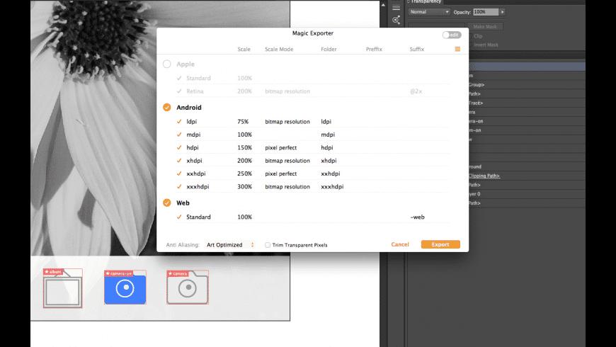 Magic Exporter for Mac - review, screenshots