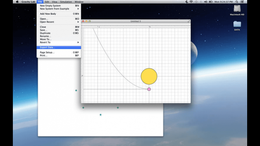 Gravity Lab for Mac - review, screenshots