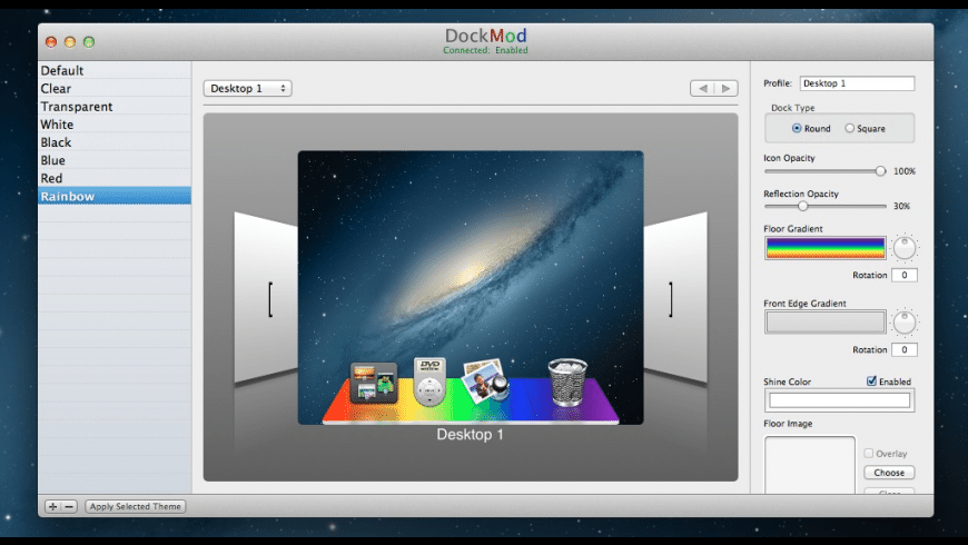 DockMod for Mac - review, screenshots