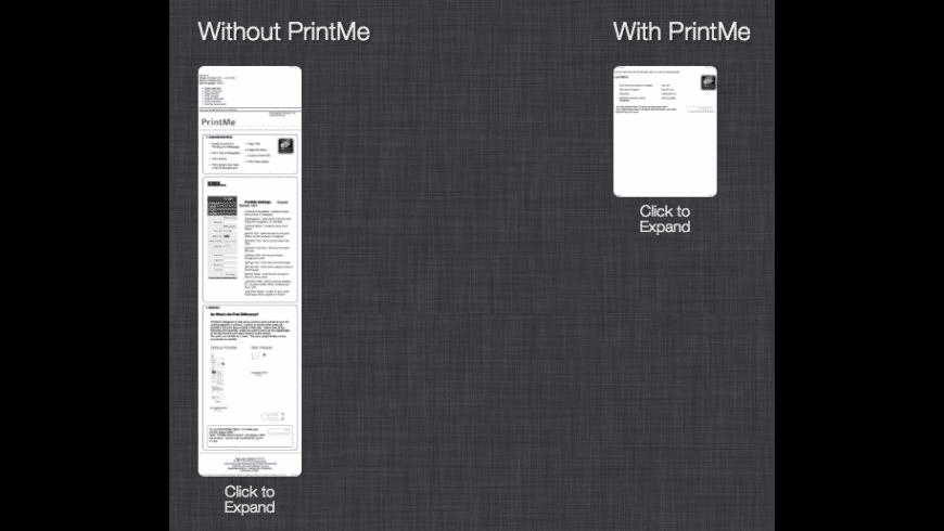 PrintMe for Mac - review, screenshots