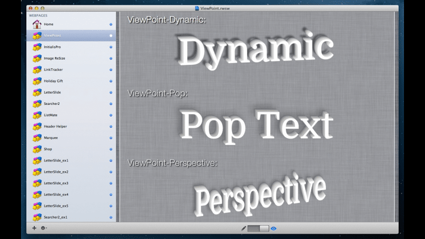 ViewPoint for Mac - review, screenshots