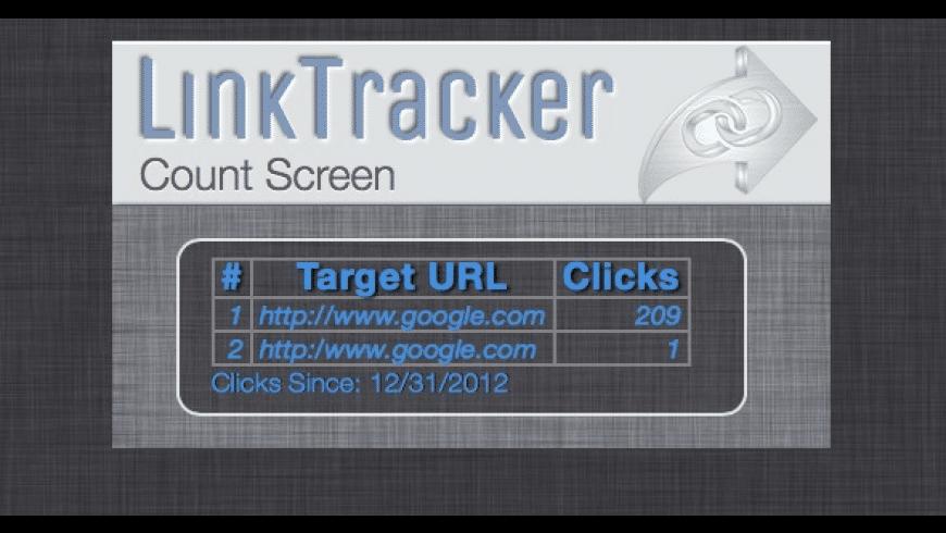 LinkTracker for Mac - review, screenshots