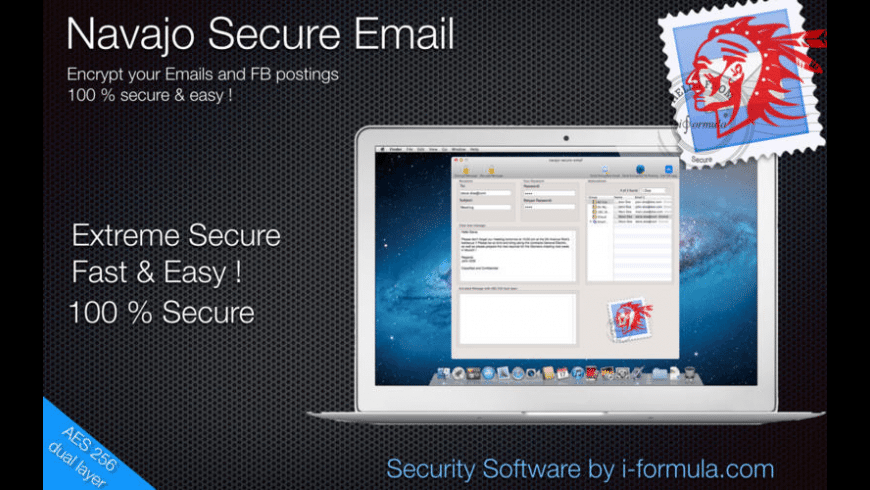 Navaja Secure Email for Mac - review, screenshots