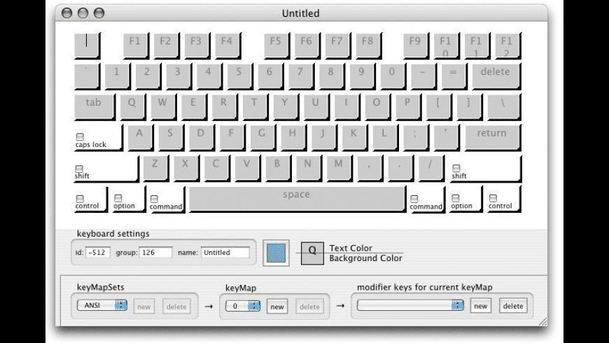 Keyboard Builder for Mac - review, screenshots
