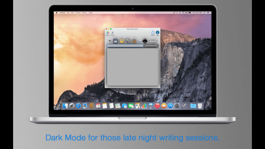 JotSpot for Mac - review, screenshots