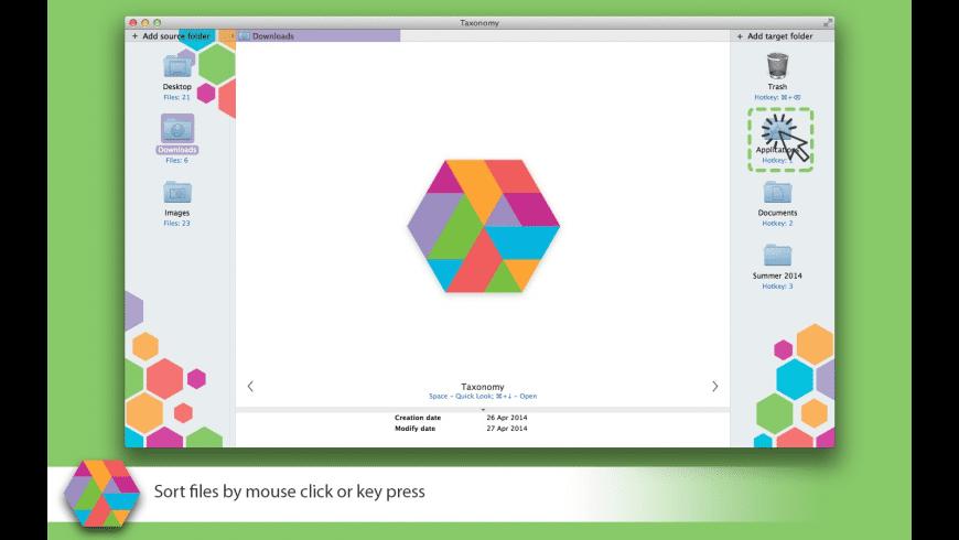 Taxonomy for Mac - review, screenshots