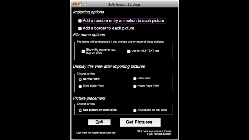 InsertPicture for Mac - review, screenshots