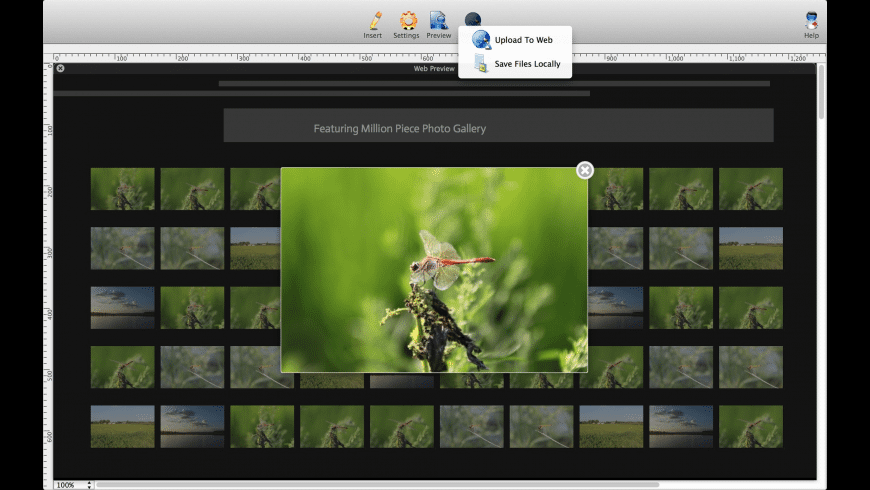Lightbox Photo Gallery Maker for Mac - review, screenshots