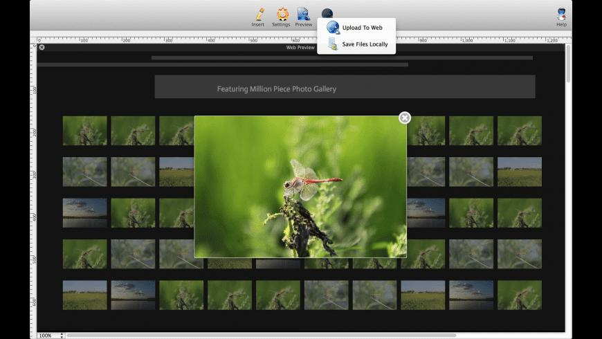 Lightbox Photo Gallery Maker for Mac - review, screenshots