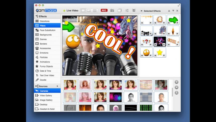 CamMask for Mac - review, screenshots