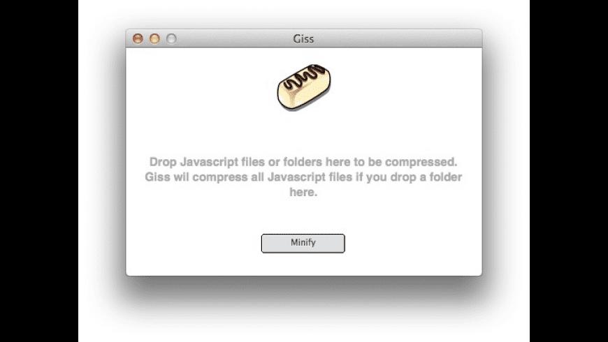 Giss for Mac - review, screenshots