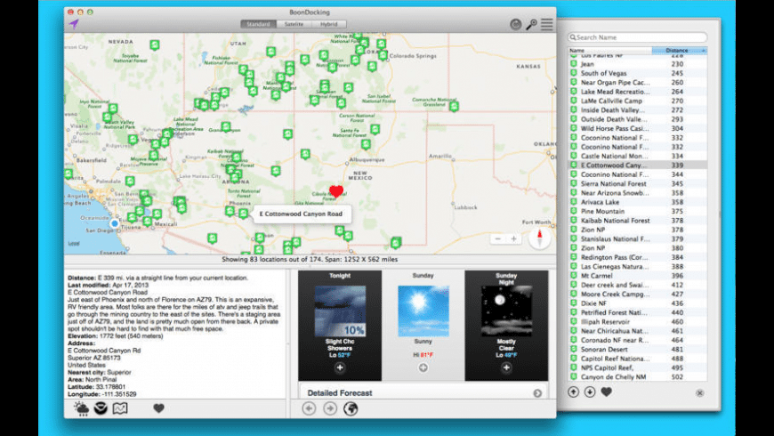 Boondocking for Mac - review, screenshots