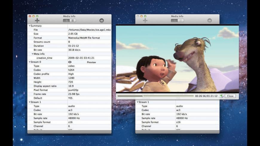 Media-Info for Mac - review, screenshots