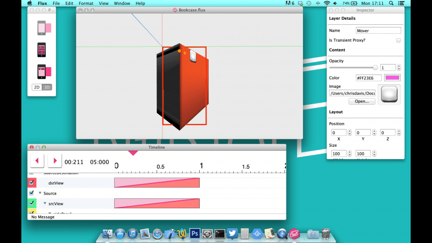 Flux for Mac - review, screenshots