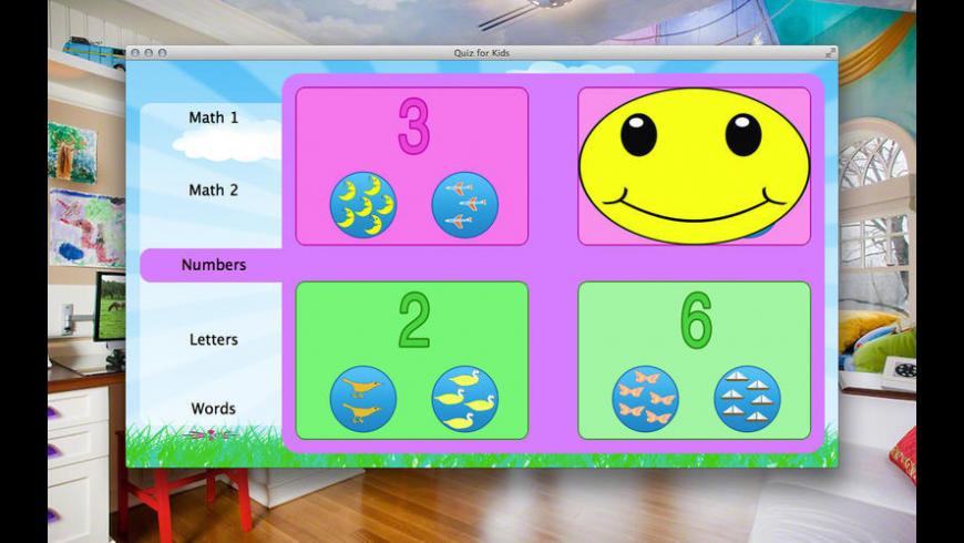 Quiz for Kids for Mac - review, screenshots