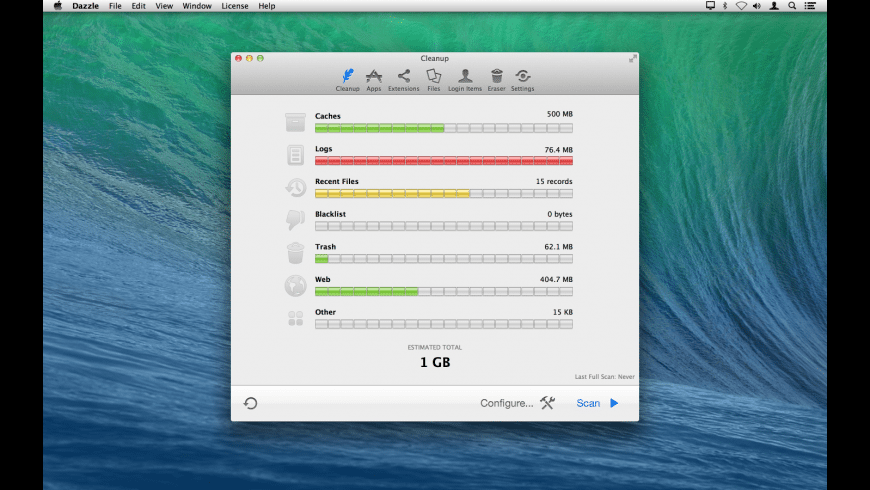 Dazzle for Mac - review, screenshots