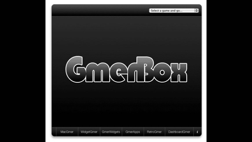 GmerBox for Mac - review, screenshots