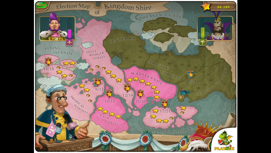 Royal Envoy: Campaign for the Crown for Mac - review, screenshots