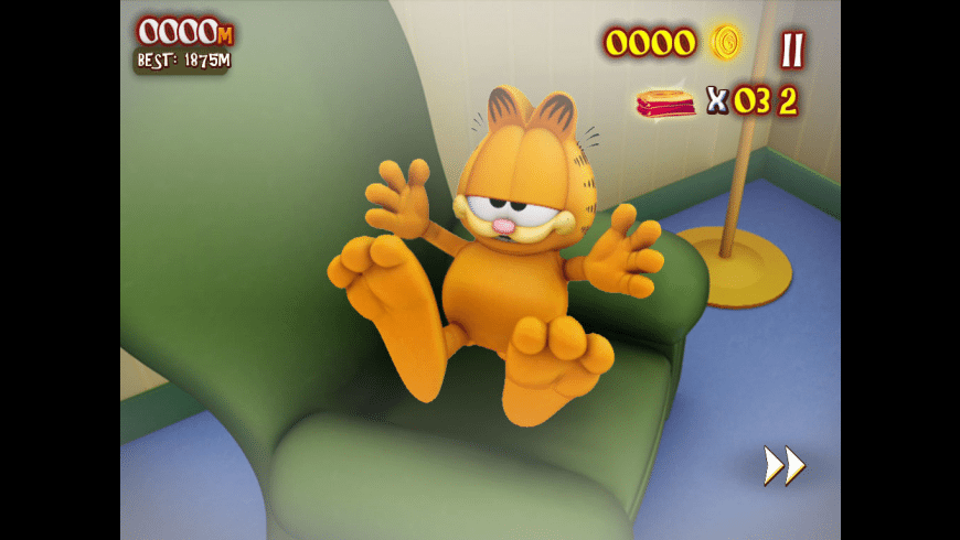 Garfield's Wild Ride for Mac - review, screenshots