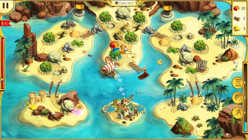 12 Labours of Hercules 2: The Cretan Bull for Mac - review, screenshots