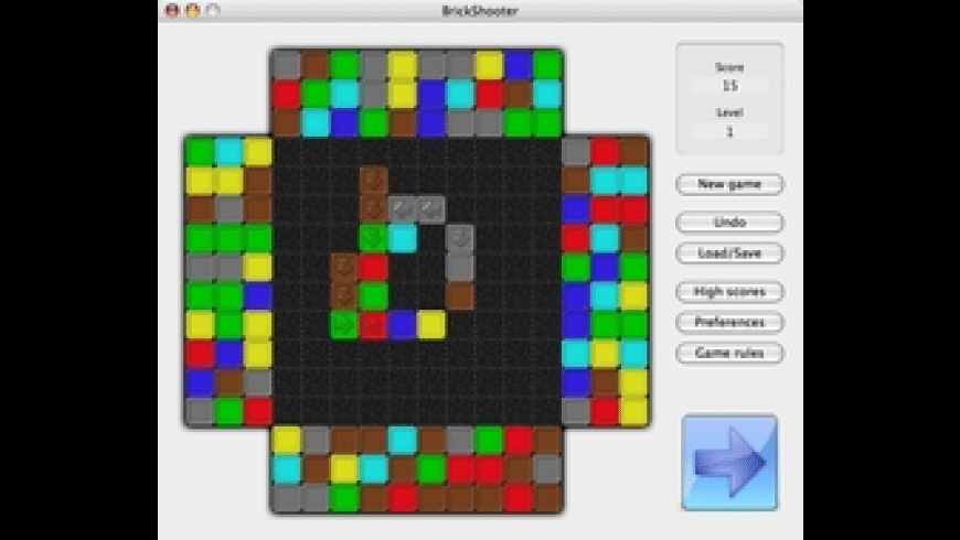 BrickShooter for Mac - review, screenshots