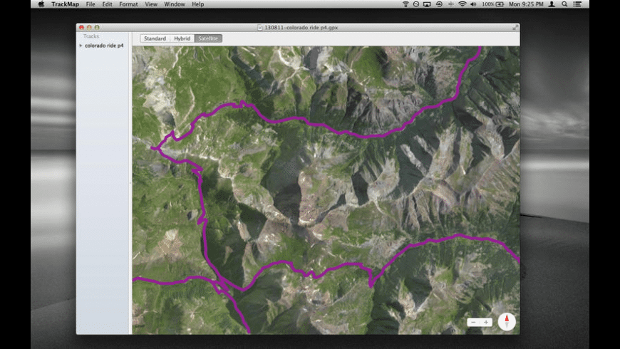 TrackMap for Mac - review, screenshots