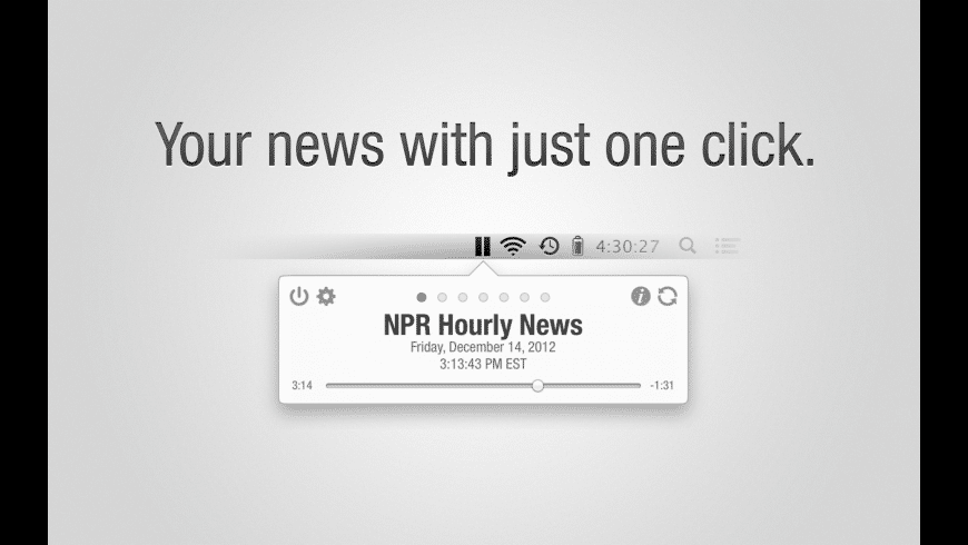 Hourly News for Mac - review, screenshots