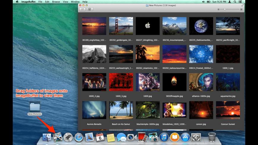 ImageBuffet for Mac - review, screenshots