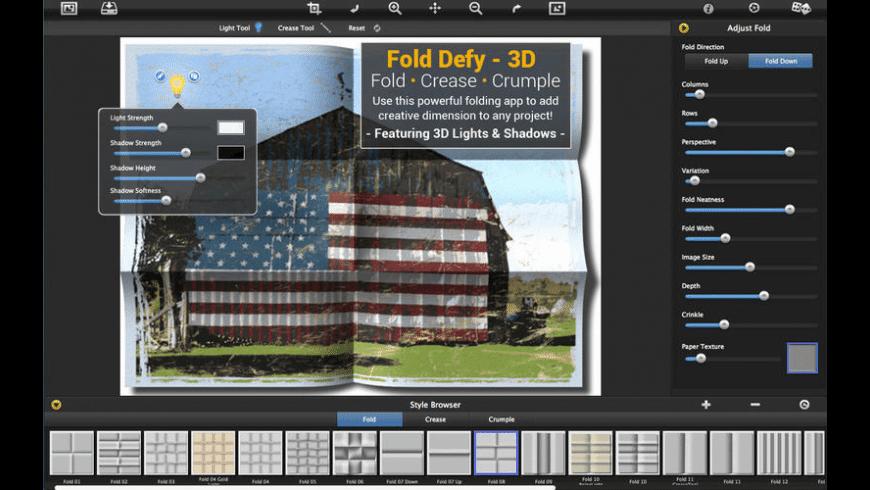 Fold Defy for Mac - review, screenshots