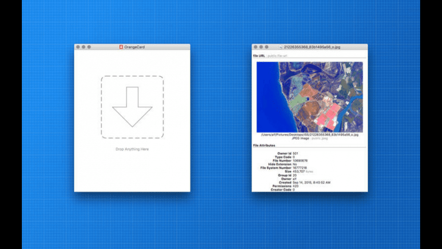 OrangeCard for Mac - review, screenshots