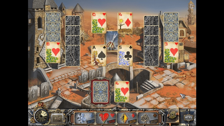 Solitaire Mystery: Four Seasons for Mac - review, screenshots