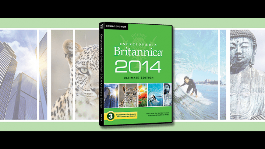 Encyclopedia Brittanica Ultimate Edition for Mac - review, screenshots
