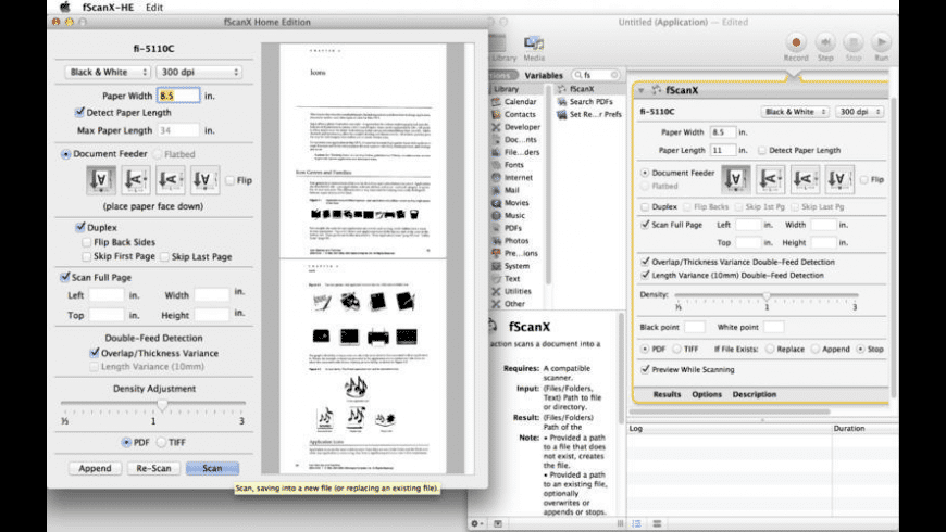 fScanX Home Edition for Mac - review, screenshots