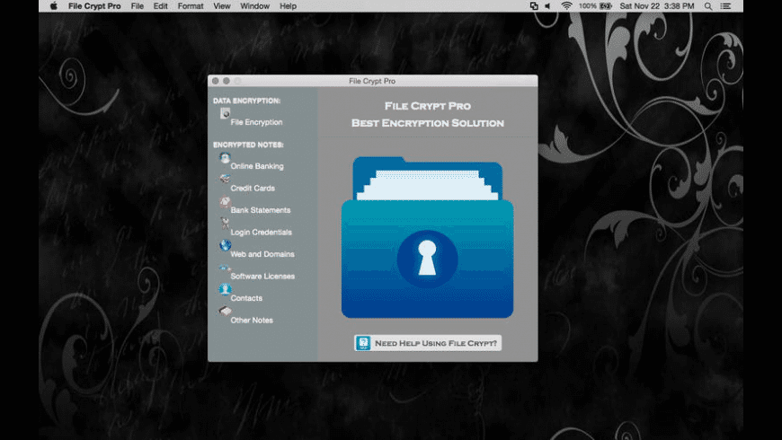 File Crypt Pro for Mac - review, screenshots